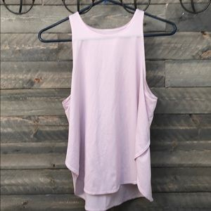 Light pink fabletics top size large